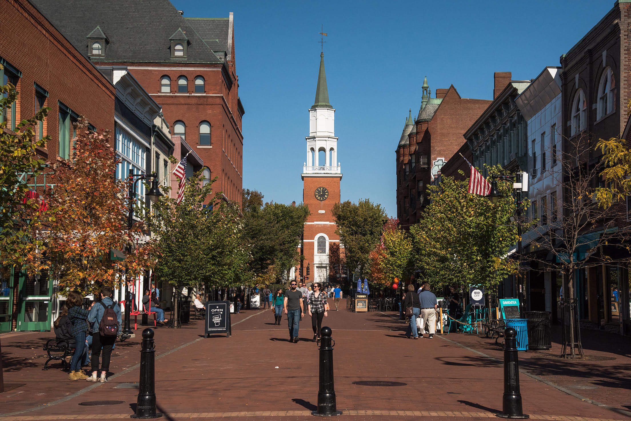 Why live in Burlington, Vermont?